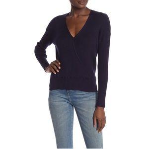 Elodie || Navy Ribbed Sweater